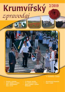 Krumvířský zpravodaj č.2-2010