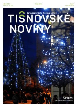 TN č. 1/2014 - Město Tišnov