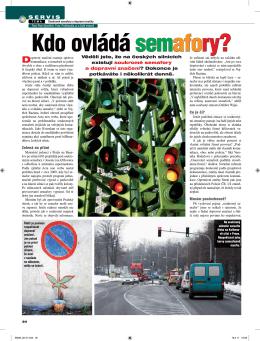 Kdo ovládá semafory?