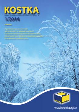 kostka 1/2014 - Bohemia Cargo