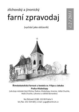 farní zpravodaj - Římskokatolická farnost u kostela sv. Václava