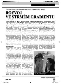 Text v pdf - Zdeněk Vojtíšek