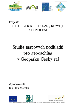 Studie mapových podkladů pro geocaching v Geoparku Český ráj