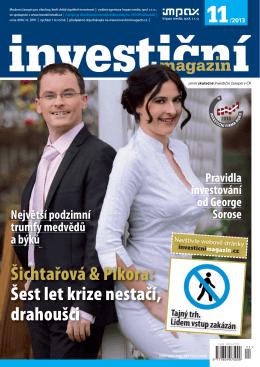 Šichtařová & Pikora - Investiční magazín