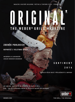 the webeR®gRill magazine