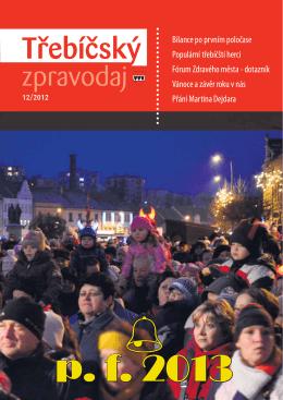 Třebíčský zpravodaj č. 12/2012