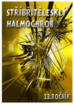 2012 Halmochron - sborník komplet