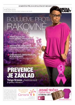Příloha MF Dnes 27.5. - AVON proti rakovině prsu