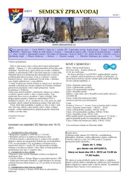 zpravodaje č:4/2011