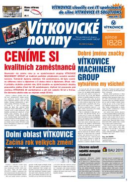 leden 2011 - Vítkovice, a.s.