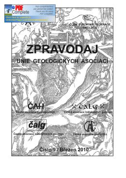 LS 2010 - Unie geologických asociací