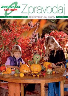 Podzim 2012 - Zahradnictví Chládek