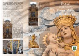 Kostel Narození Panny Marie - Římskokatolická farnost Mnichovice