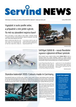 SATAjet 5000 B – nová flexibilní vysoce výkonná stříkací