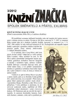 číslo 3, 2012