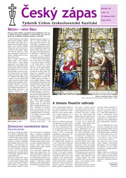 12/2014 - Církev československá husitská