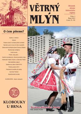 klobouky 3-2013.indd - Město Klobouky u Brna