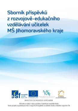 Sborník příspěvků z rozvojově-edukačního vzdělávání učitelek MŠ