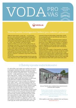 Časopis Voda pro vás 2014 - Pražské vodovody a kanalizace, as