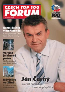 Ján Čarný - Czech TOP 100