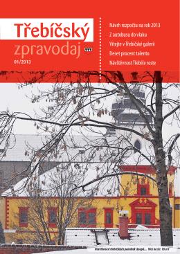 Třebíčský zpravodaj č. 1/2013
