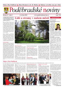 Lidé a stromy v našem městě - Kulturní a informační centrum