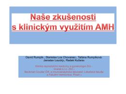 AMH otázky a trendy klinického využití