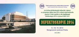 9.–10. 10. 2014 Kongresové centrum Praha zve všechny