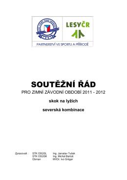 3. Kategorizace v sezoně 2011 / 2012