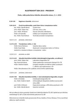 program semináře Klostridiový den 2015 (pdf)