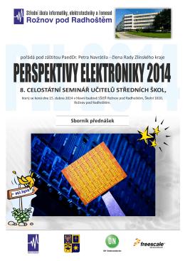perspektivy elektroniky 2014 - sborník přednášek - SŠIEŘ