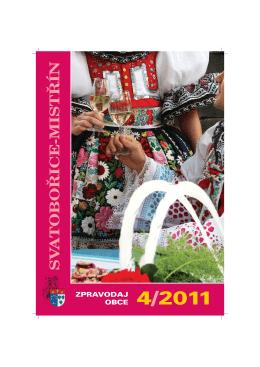 Zpravodaj obce Svatobořice