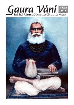 duben 2012 - Sri Sri Radha Govinda Mandir