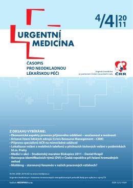4/2011 - Urgentní medicína