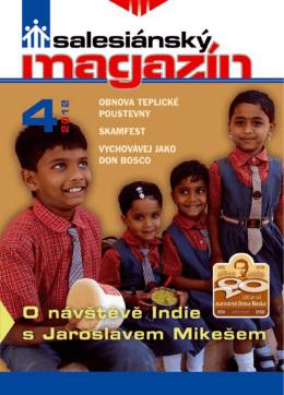 aktuálního vydání Salesiánského magazínu