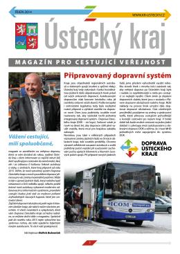 Magazín pro cestující veřejnost