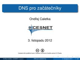 DNS pro začátečníky - OpenAlt