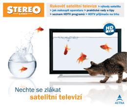 Brožura Rukověť satelitní televize