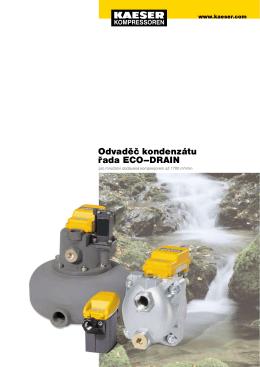 Odvaděč kondenzátu řada ECO–DRAIN