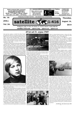 Číslo 10 v PDF verzi - Satellite 1-416