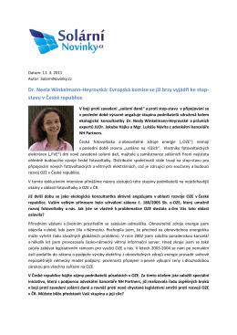 Dr. Neela Winkelmann-Heyrovská - NH Partners, advokátní kancelář
