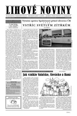 Lihové noviny č. 2 – březen 2013