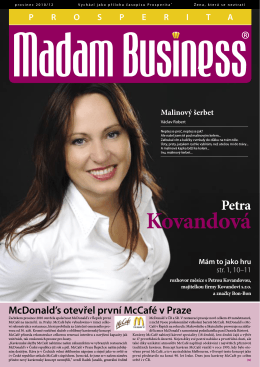 Prosinec - Prosperita Madam Business