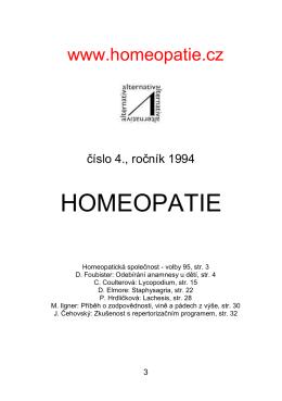 Homeopatie.cz