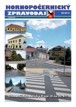 Hornopočernický zpravodaj 9/2014
