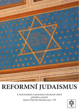 Reformní judaismus.pdf - Židovská liberální unie
