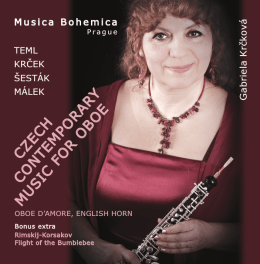 CD booklet (PDF) - Musica Bohemica