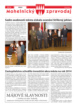 Mohelnický zpravodaj duben 2014