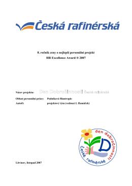 Den Dobročinnosti České rafinérské