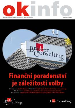 Finanční poradenství je záležitostí volby